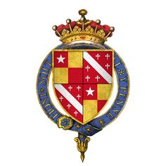 15th Century Coat of Arms of John De Vere, Earl of Oxford