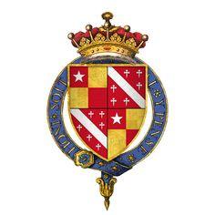 15th Century Coat of Arms of John De Vere, Earl of Oxford