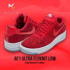 Af1 Ultra Flynit Low is now available at Mayad+!
