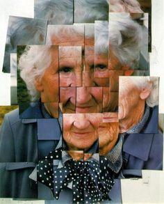 David Hockney Mother 1, Yorkshire Moors