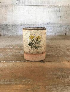 Vase Hanging Vase  Ceramic Wall Pocket Vase Pottery Wall Vase