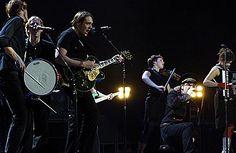 Bono and Arcade Fire in Montreal - November 28, 2005