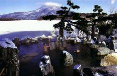 Hot spring baths