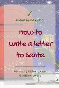 Help Your Kiddos Write To Santa  Printable Santa Letter