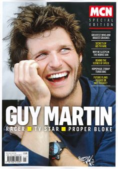 This MCN Special Edition is a celebration of Guy Martin - Racer, TV Star, proper bloke.  Including his greatest wins and biggest crashes, the secrets of his TV fame & why he sleeps in the works van!  Go behind the scenes of Speed, discover the secrets of his homemade turbo bike, and look into his future plans - to race or not to race?