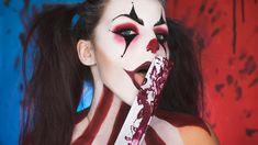 #halloween2017 #clownmakeup #halloween #turorial #creepyclown #clown #crazyclown