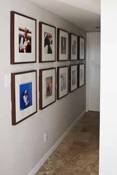 IKEA Ribba frames with 12x12 photos // elise joy