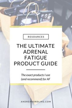 When you're experiencing adrenal fatigue or hormone issues, you just want to know what you can use to help yourself.so I detailed the exact products I recommend to my clients (and use myself! Adrenal Fatigue Treatment, Fatigue Causes, Adrenal Fatigue Symptoms, Adrenal Glands, Chronic Fatigue Syndrome, Liver Detox Symptoms, Adrenal Health, Adrenal Diet, Thyroid Diet