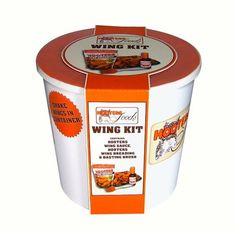 Hooters Wing Kit Gift Set - Sauce, Breading Mix, Basting Brush & Wing Shaker $25.00