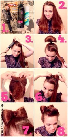 Hair Bow. I am so doing this