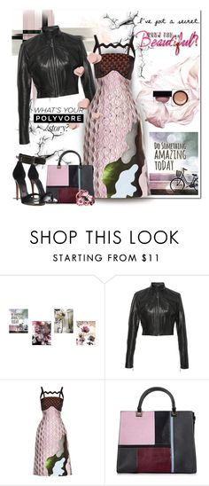 """What's Your Polyvore Story?"" by wanda-india-acosta ❤ liked on Polyvore featuring Givenchy, Oday Shakar, Mary Katrantzou, Topshop, CÉLINE and Gucci"