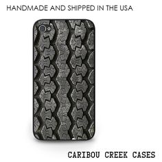 Tire Tracks iPhone 5s Case Tire Tread iPhone by CaribouCreekCases,