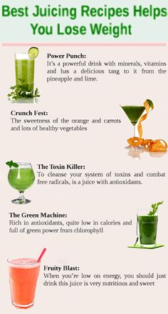 The Best Juicing Recipes for Weight Loss If you are desperate to #lose_weight in a natural and easy way without complex diets, then juicing is the best way. Join US @twitter: http://goo.gl/U8i95N @google+: http://goo.gl/Je4q4G #health_fitness #healthy_living #fruit_Vegetables #healthyeating #healthydiet #weight_loss