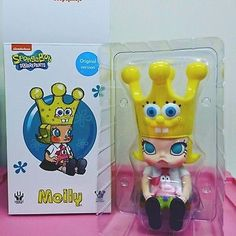Unbox Industries x Kennyswork Molly Spongebob Original Ver. Soft Vinyl Figure