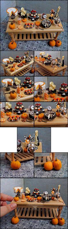 1:12 Halloween Table Details by Bon-AppetEats