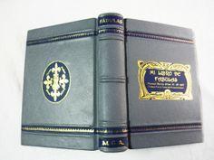 Mi libro de fábulas Bookbinding http://petry.es/category/manolo/encuadernacion/