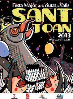 Festa Major de Sant Joan 2013 a Valls
