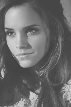 Emma Watson. Just a really stunning shot. Love it.