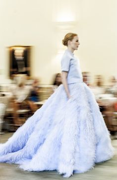 A Giambattista Valli Couture Show At The Duke Mansion  - TownandCountryMag.com