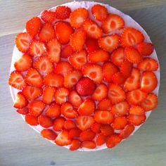 Strawberry cheese cake!