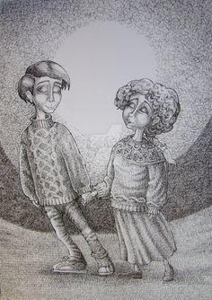 by balgeza on DeviantArt My Drawings, Ink, Deviantart, Illustration, India Ink, Illustrations