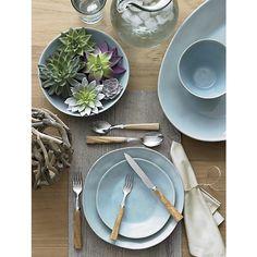 Marin Blue Dinnerware  | Crate and Barrel