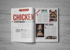 Kimcil Magazine on Behance