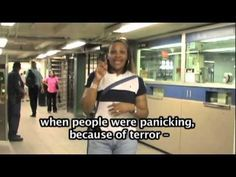 9/11 - 10 YEARS LATER  - ARE THEY READY FOR DEAF PEOPLE? (Credit: Gianna Heaviland)