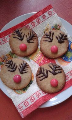 This no all / Disznóól - KonyhaMalacka disznóságai: Szemtelen Rudolf - linzer Cookies, Desserts, Food, Biscuits, Meal, Deserts, Essen, Hoods, Dessert