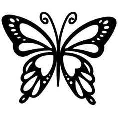 siluetas de mariposas - Buscar con Google                                                                                                                                                      Más