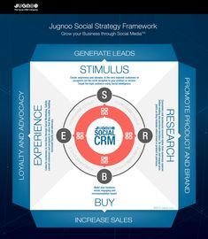 Social CRM Strategy Infographic