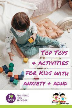 Sensory Toys For Kids, Sensory Tools, Sensory Diet, Sensory Activities, Kids Toys, Activities For Kids, Sensory Disorder, Sensory Processing Disorder, 3 Year Old Toys