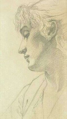 John Singer Sargent - Study of a Woman' s Head, 1875 Sargent Art, John Singer Sargent, Figure Drawing, Painting & Drawing, Trois Crayons, Drawing Sketches, Art Drawings, Sketching, Silverpoint