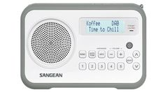 Sangean DAB /FM-RDS Digital Radio Receiver - White/Grey