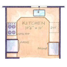 Kitchen Square Footage our favorite small kitchens that live large | cleanses, sunglasses