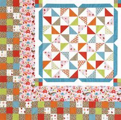 We know you love the quilt projects that appear in American Patchwork & Quilting® magazine. We took inspiration from projects in the magazine and created Web-exclusive versions, complete with full instructions. Crafty Projects, Quilting Projects, Sewing Projects, Quilting Ideas, Book Quilt, Quilt Top, American Patchwork And Quilting, Quilt Patterns Free, Free Pattern