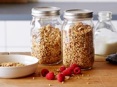 Healthy Granola recipe from Food Network Kitchen via Food Network