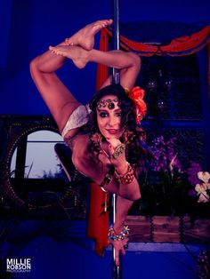 Pole Picture of the Day: Marion Crampe, Photography by Millie Robson, Pole Dance Photography by...