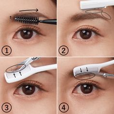 Make Beauty, Beauty Makeup, Eye Makeup, Ideal Beauty, Beauty Tips 101, Beauty Secrets, Beauty Products, Eyeliner Tape, Korean Natural Makeup