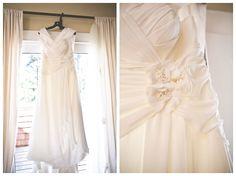 Dress Photography | Seabrook Cottages | Seabrook Washington Wedding | Photo taken by Heather B. Allison Photography.