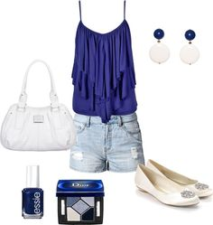 """Royal blue"" by maddie-callen on Polyvore"