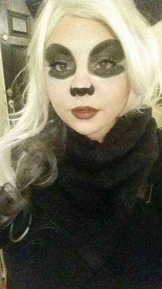 Raccoon make-up | Raccoons, Halloween ideas and Halloween costumes