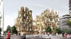 Kengo Kuma reveals plant-covered Eco-Luxury Hotel for Paris