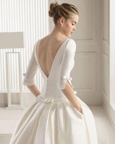 Los 60 vestidos de novia con mangas largas más lindos: El detalle obligado para darle la bienvenida al otoño Image: 9