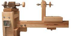 Woodturning homemade lathe