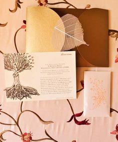 Convites para casamento - Estilo rústico