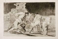 Francisco de Goya. Goya en El Prado: Disparate cruel