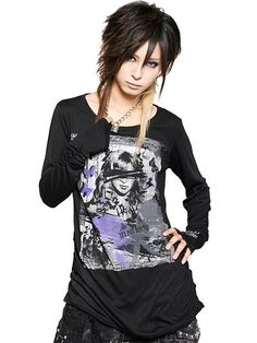 Lost smile Shirring Long Sleeve T-Shirt / See more at www.cdjapan.co.jp... #punk #jrock