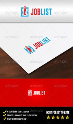 Job List Logo - graphicriver sale