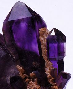 Amethyst with scepter / Africa